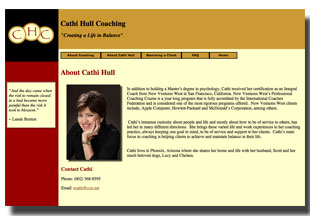 Cathi Hull web site