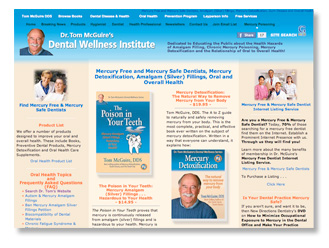 Dental Wellness web site